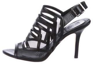 Christian Dior Mesh Caged Sandals