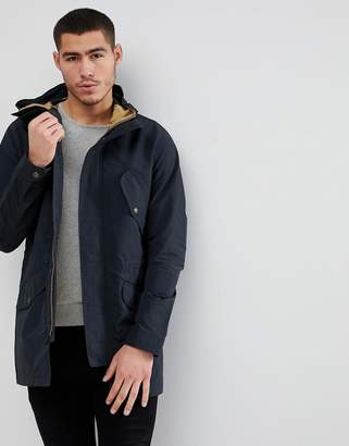 Jack and Jones Lightweight Parka With Wire Hood