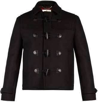 Saint Laurent Cropped wool duffle coat