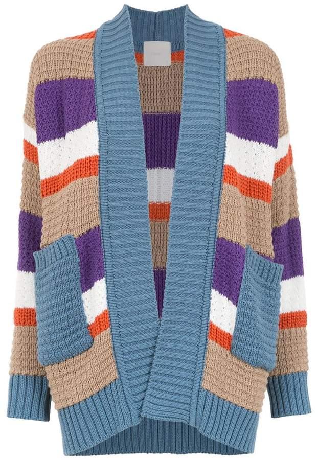 Framed Nkit knitted cardigan