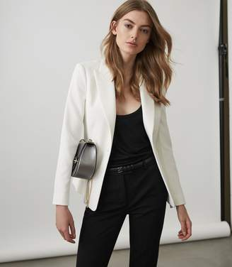 Reiss Rio Textured Single-Breasted Blazer