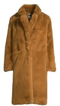 Apparis Laure Oversized Faux Fur Coat