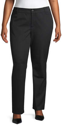 ST. JOHN'S BAY Bi-Stretch Striaght Leg Pant - Plus