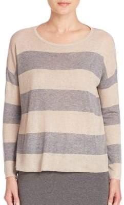 Eileen Fisher Striped Long Sleeve Sweater