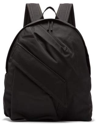 Raf Simons X Eastpak - Classic Nylon Backpack - Mens - Black