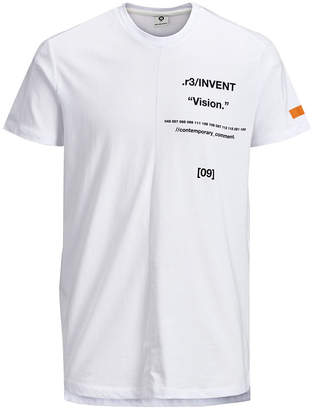 Jack and Jones Men Tion Short Sleeve Crew Neck Tshirt