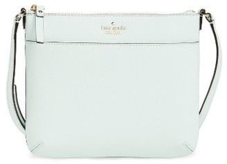 Kate Spade New York Cameron Street - Tenley Leather Crossbody Bag - Blue $178 thestylecure.com