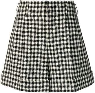 8f01a98e190e Comme des Garcons PRE-OWNED gingham check wide shorts