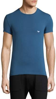Emporio Armani Men's Iconic Crewneck Cotton T-Shirt