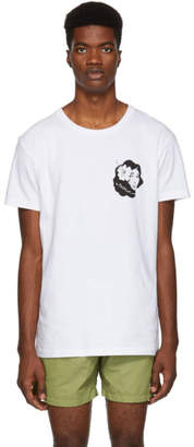 Bather White Hula Girl T-Shirt