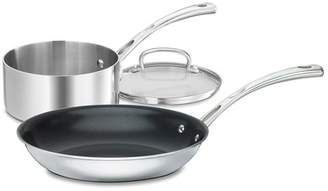 Cuisinart Non Stick Cookware 3-Piece Set