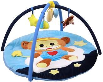 Fenteer Baby Toys Monkey Educational Crawling Activity Mat Play Gym Carpet Puzzle Mat