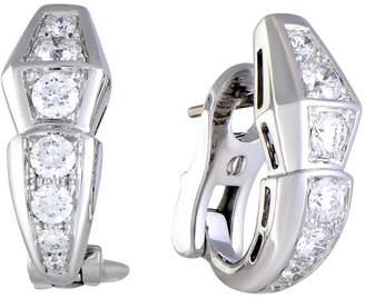 Bulgari Serpenti 18K 1.28 Ct. Tw. Diamond Earrings