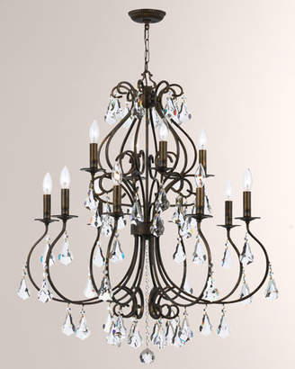 Swarovski Ashton 12-Light Chandelier