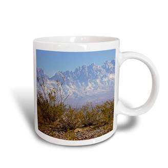 3dRose Organ Mountains, Las Cruces, New Mexico - US32 LDI0002 - Larry Ditto, Ceramic Mug, 11-ounce