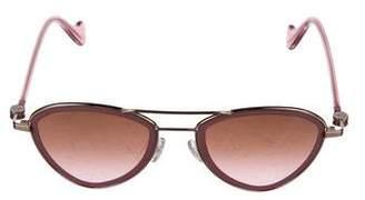Moncler Geometric Gradient Sunglasses