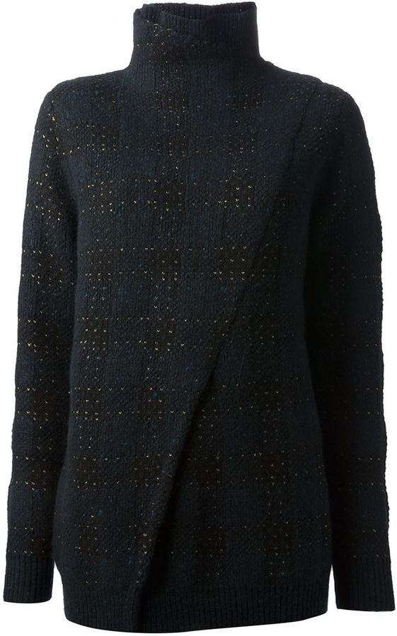 3.1 Phillip Lim plaid sweater