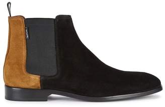 Paul Smith Gerald Contrast Suede Chelsea Boots