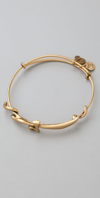 Alex And Ani Sword Expandable Wire Bangle