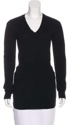 Prada Sport Cashmere V-Neck Sweater