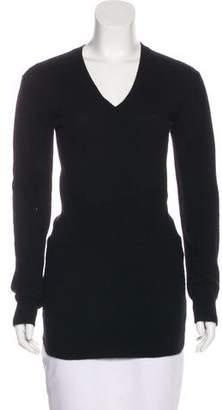 Prada Sport Cashmere V-Neck Sweater