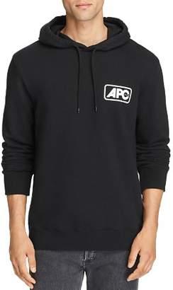 A.P.C. Jane Small Box Logo Hooded Sweatshirt