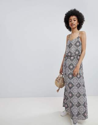 Only Tile Print Maxi Dress