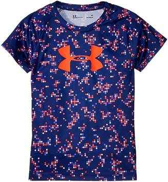 Under Armour Kids Circam Big Logo Short Sleeve Girl's Clothing