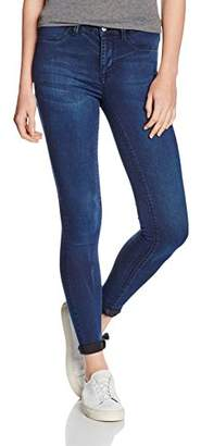 Selected Women's SFGAIA HR 1 JNS Jegging Dark Blue NOOS Jeans