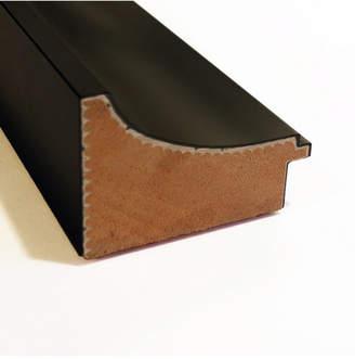Amanti Art Manteaux Black 32x24 Framed Magnetic Board