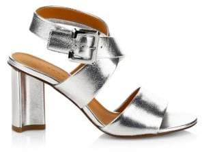 Clergerie Alixe Leather Criss Cross City Sandals