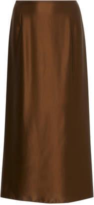 Vince A-Line Silk Slip Skirt