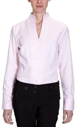 Jacques Britt Women's Shirt-blouse Mao Long - regular Blouse - - 8 (Brand size: S)