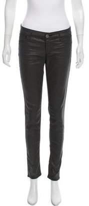 Habitual Mid-Rise Metallic Jeans