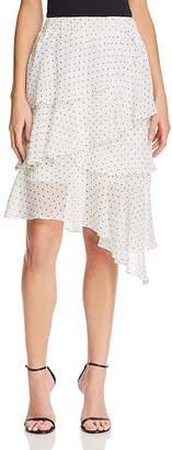 Aqua Tiered Polka Dot Skirt - 100% Exclusive