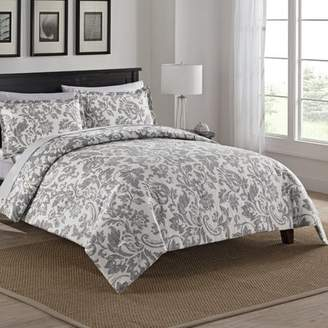 Birch Lane 100% Cotton 3 Piece Reversible Comforter Set