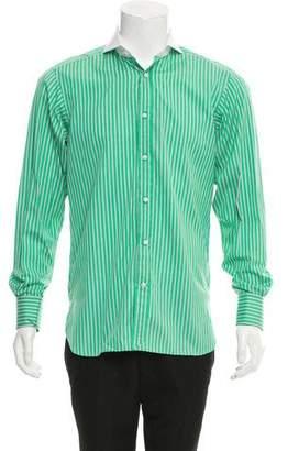 Ralph Lauren Purple Label Striped French Cuff Shirt w/ Tags
