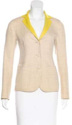 Akris Wool Reversible Blazer