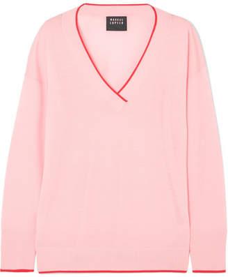 Markus Lupfer Jasmin Merino Wool Sweater - Pastel pink