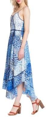 Plenty by Tracy Reese Tile Scarf Hem Dress