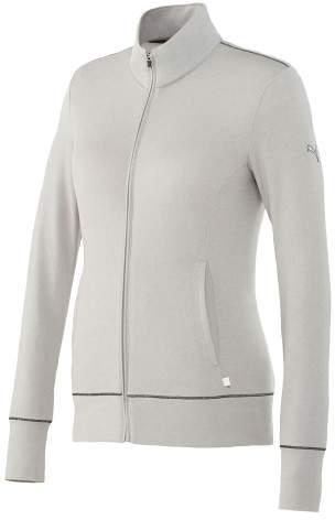 Women's PUMA Golf Track Jacket Light Grey Heather XS