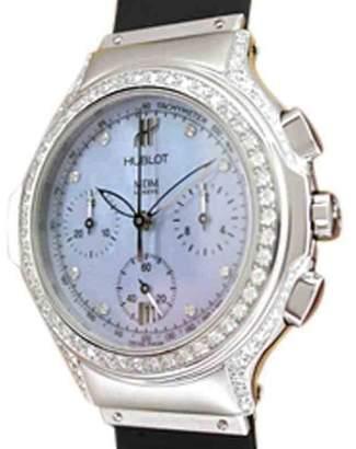"Hublot Chrono Lady"" Stainless Steel Watch"