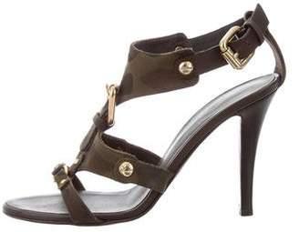 Giuseppe Zanotti Camo Slingback Sandals