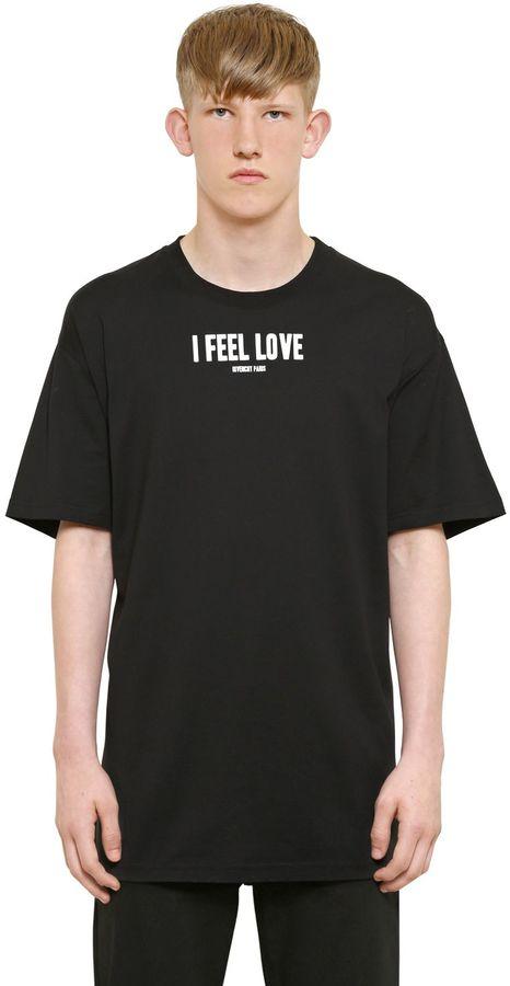 Cuban Fit Feel Love Print Jersey T-Shirt