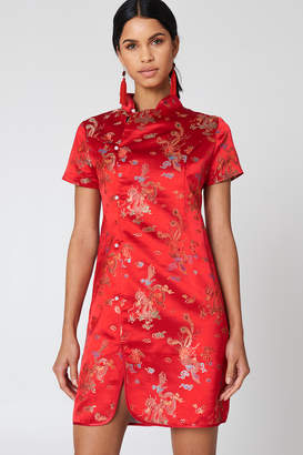NA-KD Na Kd Cheongsam Mini Dress