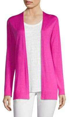 Eileen Fisher Wool& Silk Cardigan