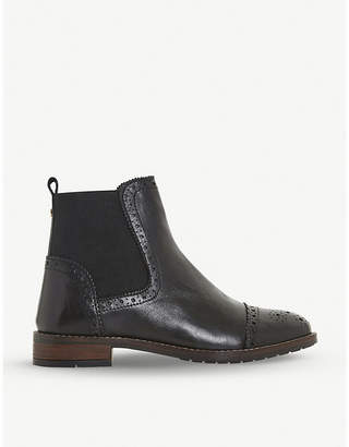 Dune Queston classic leather Chelsea boots