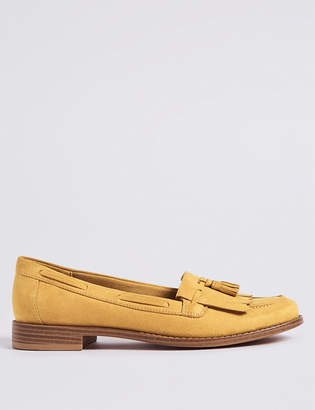 Marks and Spencer Round Toe Tassel Loafers
