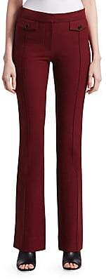 Derek Lam 10 Crosby Women's Stitched Flare Trousers - Size 0