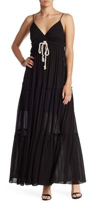 Bailey 44 Gauze Drawstring Maxi Dress